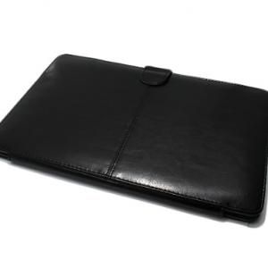 Futrola PU LEATHER za Apple MacBook crna