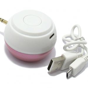 Led lampa + Zvucnik 3.5mm pink - 2