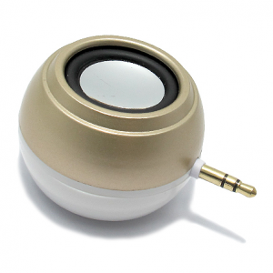 Led lampa + Zvucnik 3.5mm zlatni