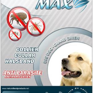 Max biocide - Antiparazitska ogrlica za male pse