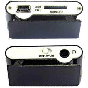 Mp3 player+USB+slusalice crna 2