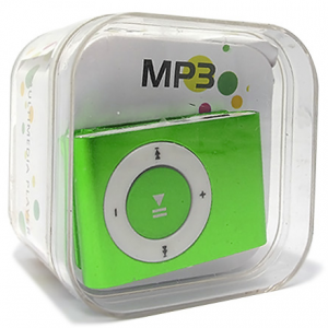 Mp3 player+USB+slusalice zeleni 3