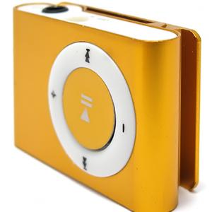 Mp3 player+USB+slusalice zlatni