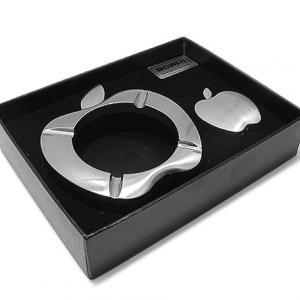 Pepeljara apple + upaljac srebrna - 2