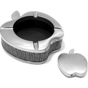 Pepeljara apple + upaljac srebrna
