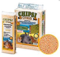 Podloga za glodare Chipsi citrus