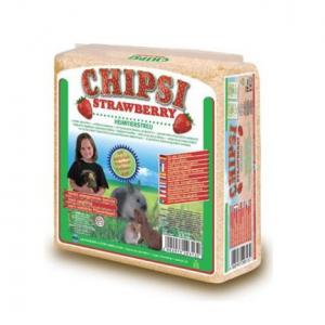 Podloga za glodare Chipsi jagoda