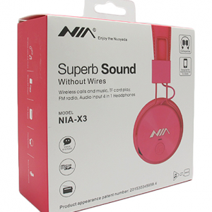 Slusalice NIA-X3 BT pink 2