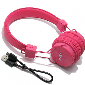 Slusalice NIA-X3 BT pink