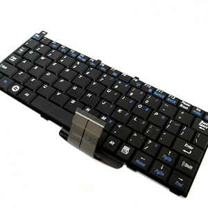 Tastatura za laptop za Toshiba Mini NB100 crna
