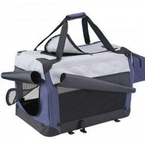 Transporter platneni plavo/sivi 50x35x35cm