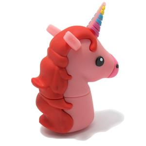 USB Flash Memorija MemoStar EMOJI unicorn roze - 2