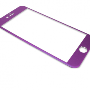 Folija za zastitu ekrana GLASS ALUMINIUM za Iphone 6 PLUS ljubicasta