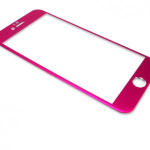 Folija za zastitu ekrana GLASS ALUMINIUM za Iphone 6 PLUS pink