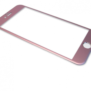 Folija za zastitu ekrana GLASS ALUMINIUM za Iphone 6 PLUS roze