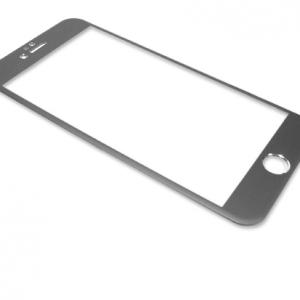 Folija za zastitu ekrana GLASS ALUMINIUM za Iphone 6 PLUS siva