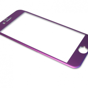 Folija za zastitu ekrana GLASS ALUMINIUM za Iphone 6G-6S ljubicasta