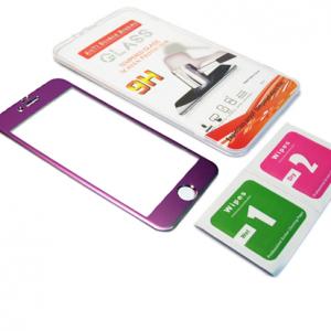 Folija za zastitu ekrana GLASS ALUMINIUM za Iphone 6G-6S ljubicasta 2