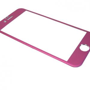 Folija za zastitu ekrana GLASS ALUMINIUM za Iphone 6G-6S pink
