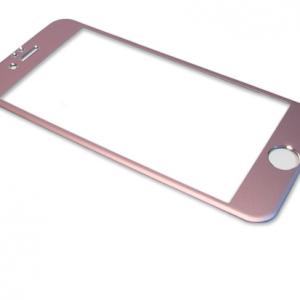 Folija za zastitu ekrana GLASS ALUMINIUM za Iphone 6G-6S roze