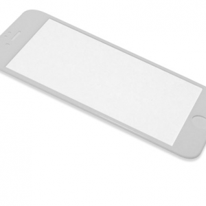 Folija za zastitu ekrana GLASS RUBBER FRAME za Iphone 7 Plus bela