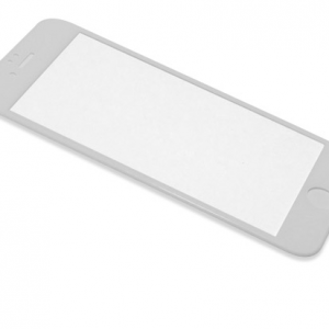 Folija za zastitu ekrana GLASS RUBBER FRAME za Iphone 7 bela