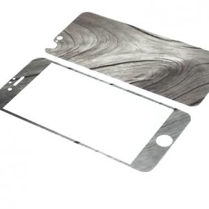 Folija za zastitu ekrana GLASS Wooden za Iphone 6G-6S 2u1 DZ01