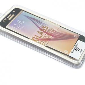 Folija za zastitu ekrana GLASS za Samsung G930 Galaxy S7 zakrivljena crna 2