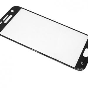 Folija za zastitu ekrana GLASS za Samsung G930 Galaxy S7 zakrivljena crna sa sljokicama