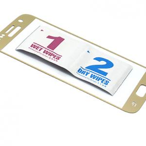 Folija za zastitu ekrana GLASS za Samsung G930 Galaxy S7 zakrivljena zlatna