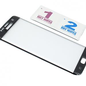 Folija za zastitu ekrana GLASS za Samsung G935 Galaxy S7 Edge zakrivljena crna