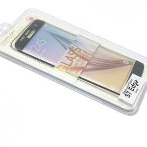 Folija za zastitu ekrana GLASS za Samsung G935 Galaxy S7 Edge zakrivljena crna 2