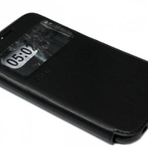 Futrola BI FOLD ROAR za Samsung G925 Galaxy S6 Edge crna