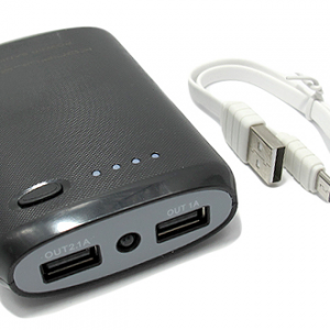 Power Bank KONFULON 7800mAh KFL-Y1301 crni 2