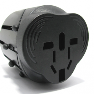 Univerzalni Travel Adapter EU USA UK AUS crni