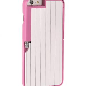 Futrola SELFIE STICK + AB SHUTTER za Iphone 6 Plus roze