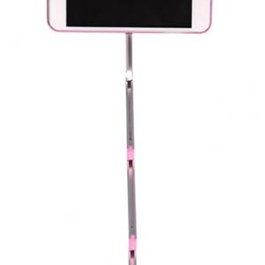 Futrola SELFIE STICK + AB SHUTTER za Iphone 6 Plus roze 2