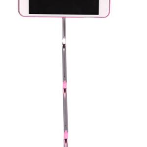 Futrola SELFIE STICK + AB SHUTTER za Iphone 6G-6S roze 2