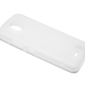 Futrola silikon DURABLE za Motorola Moto C bela