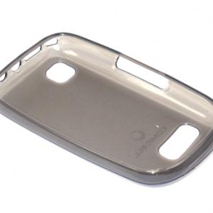 Futrola silikon DURABLE za Nokia 201 Asha siva 2