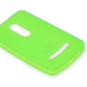 Futrola silikon DURABLE za Nokia 210 Asha zelena