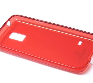 Futrola silikon DURABLE za Samsung G800 Galaxy S5 mini crvena 2