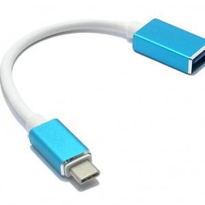 Adapter OTG Type C USB plavi