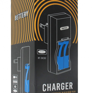 Baterija REMAX punjiva AAA LR03 900mAh + punjac 3