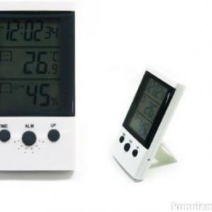 Digitalni termometar, sat, alarm - WSD-2
