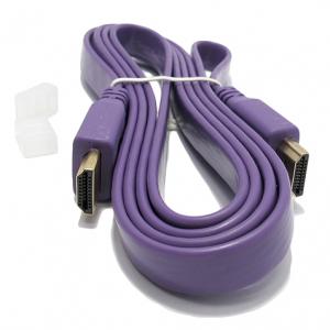 HDMI kabal na HDMI 1.5m FLAT ljubicasti 2