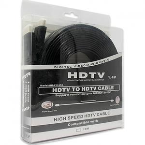 HDMI kabal na HDMI 10m FLAT crni 2