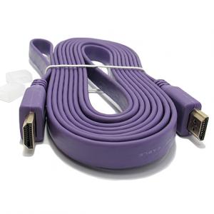 HDMI kabal na HDMI 3m FLAT ljubicasti 2