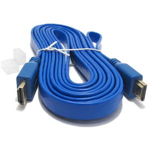 HDMI kabal na HDMI 3m FLAT plavi 2
