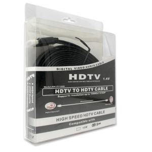 HDMI kabal na HDMI 5m FLAT crni 2